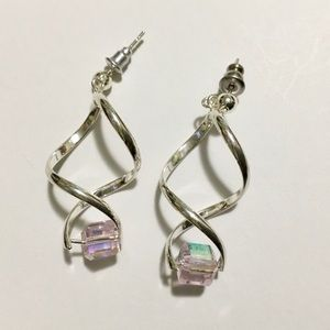 Jewelry - 💕ICE PINK CHAMPAGNE EARRINGS💕